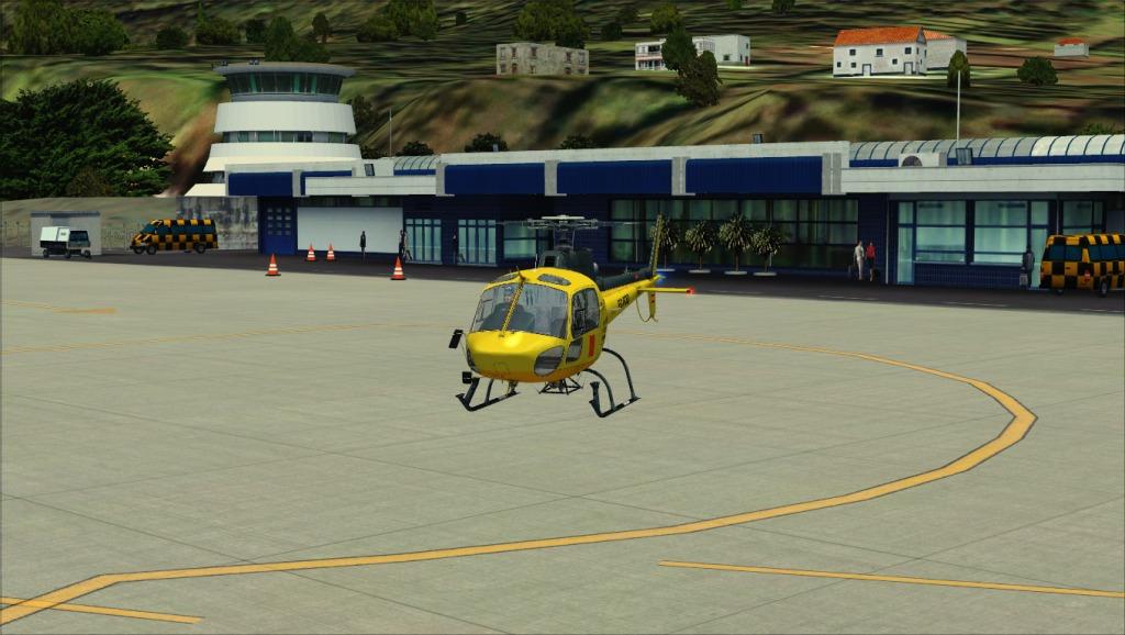[FSX] Voando por LPSJ (Tropicalsim) LPSJ3