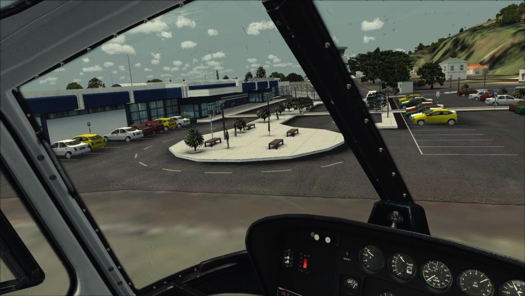 [FSX] Voando por LPSJ (Tropicalsim) LPSJ4