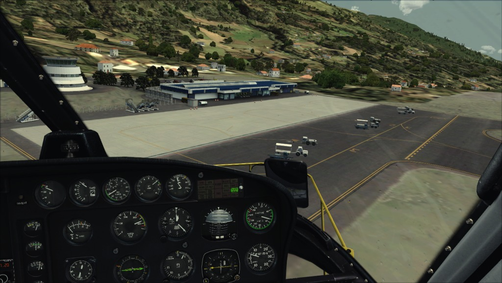 [FSX] Voando por LPSJ (Tropicalsim) LPSJ6