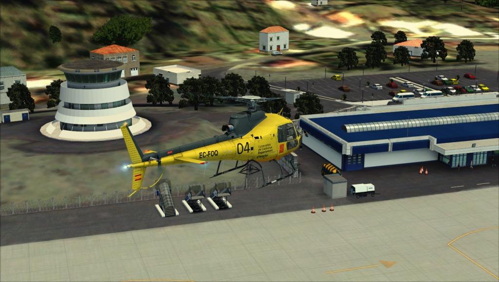 [FSX] Voando por LPSJ (Tropicalsim) LPSJ7