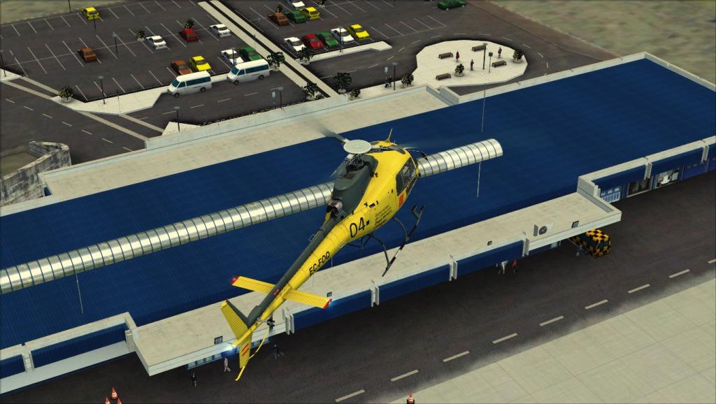 [FSX] Voando por LPSJ (Tropicalsim) LPSJ8