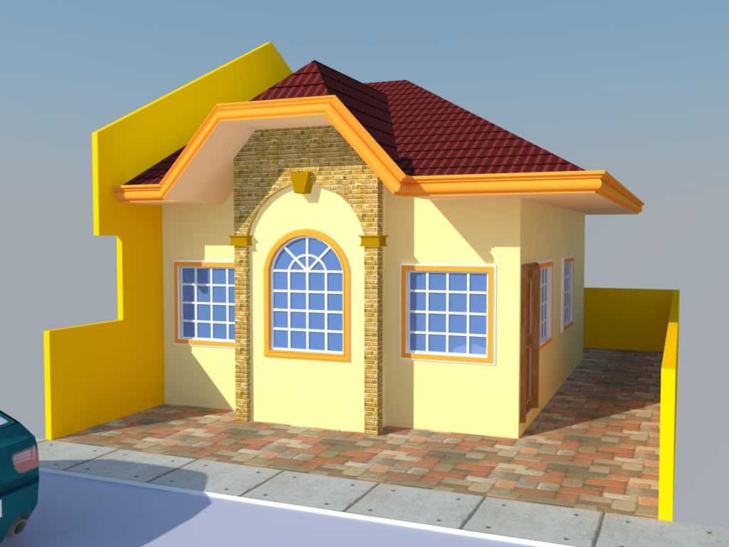 pano ba malagay ng background ,tree, plant other object sa render perspective - Page 2 Res4