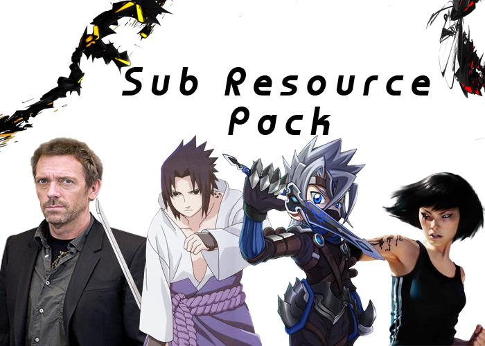 Sub Resource Pack PreviewSubResourcePack