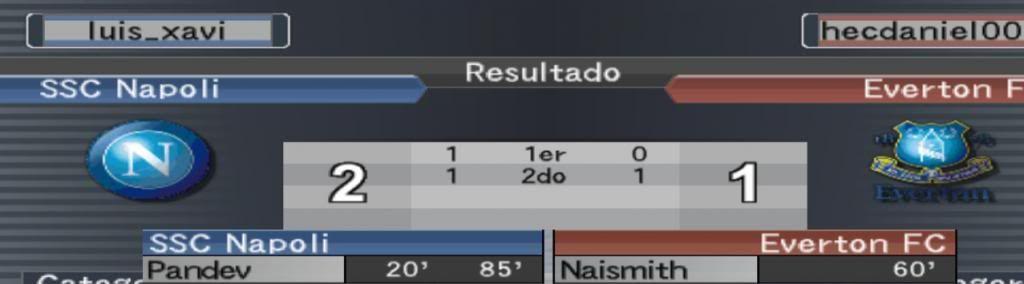 Jornadas 7 y 8 Everton
