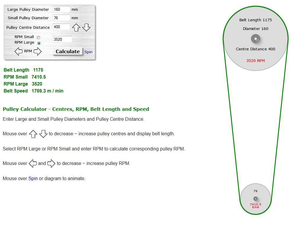92mph? My new Project, Racing mower! Craftsman / Jonsered LT12 - Page 3 CVTech_DIA_2_zps8f999394