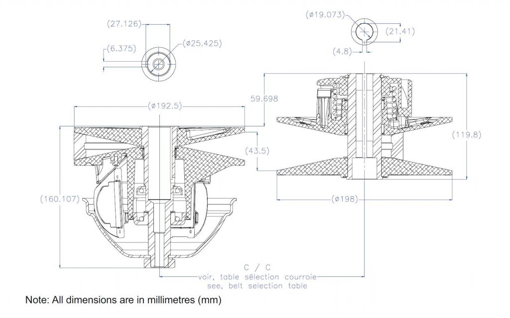 92mph? My new Project, Racing mower! Craftsman / Jonsered LT12 - Page 3 CVTech_DIA_zpsd6cab215