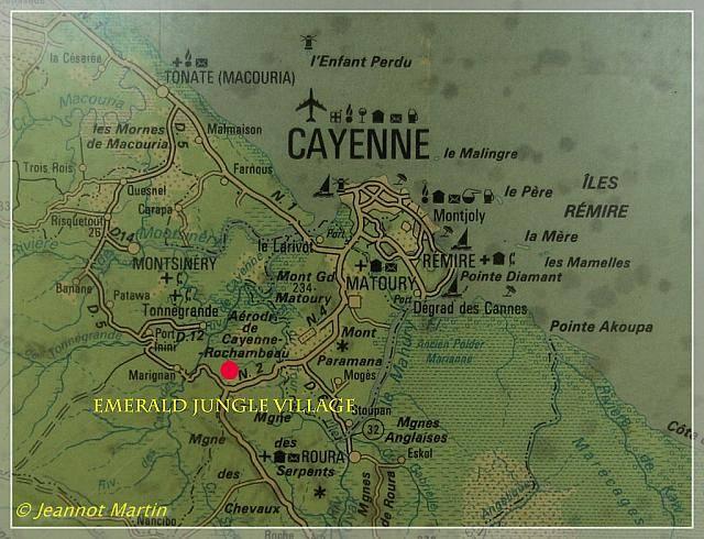 Guyane 2014 Karte