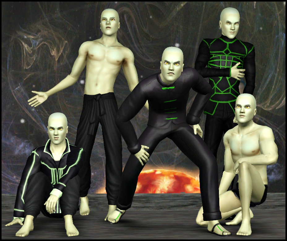 The Dramia Family (perfect for Lunar Lakes) Drom