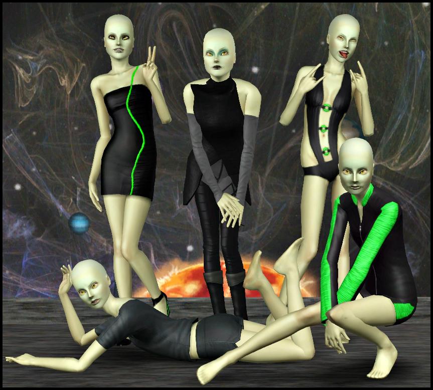 The Dramia Family (perfect for Lunar Lakes) Zol