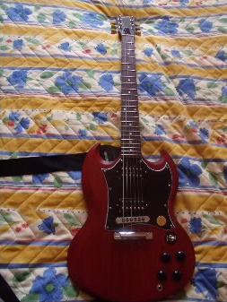 La Gibson SG Special Faded Sgm2