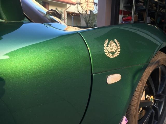 "Gio#22 vs Lotus Elise ""Mentina"" british racing green IMG_1052_zps4skulvp0"