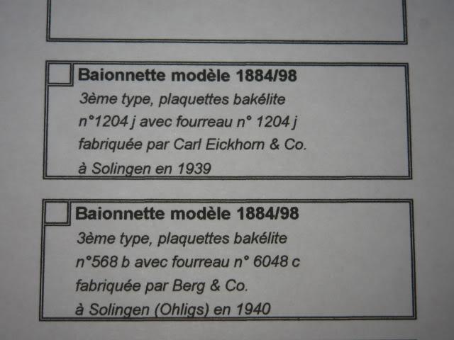 Ma collection: Baïonnettes américaines et Cuirassier français ... MAJ page 18 - Page 3 IMG_8199
