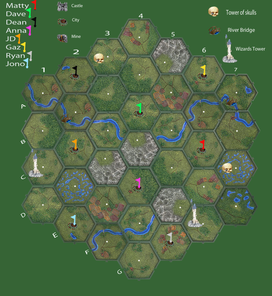 Campaign Map  StartRound1