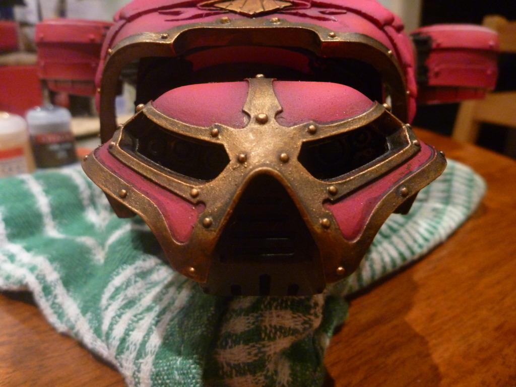 Reaver titan Face