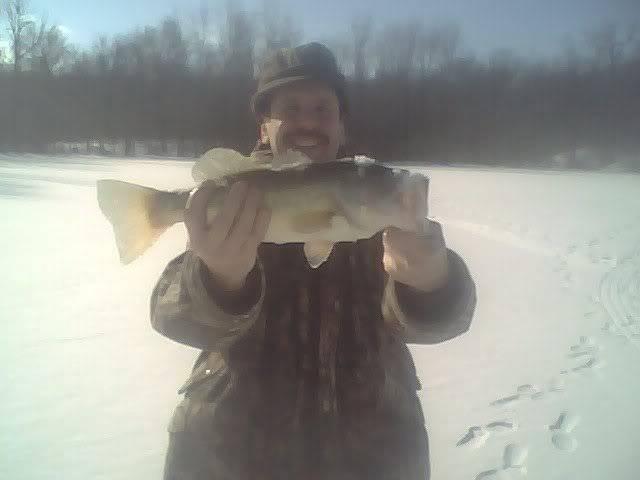 ice fishin Unclejeff