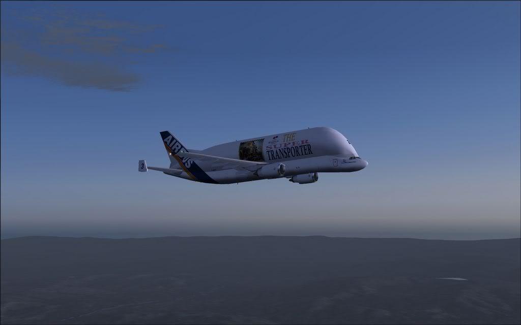 Baleia voadora - Airbus A300-600ST 1-2011-nov-24-001