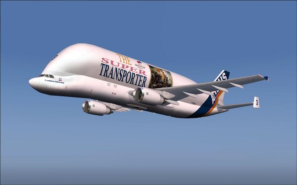 Baleia voadora - Airbus A300-600ST 1-2011-nov-24-005