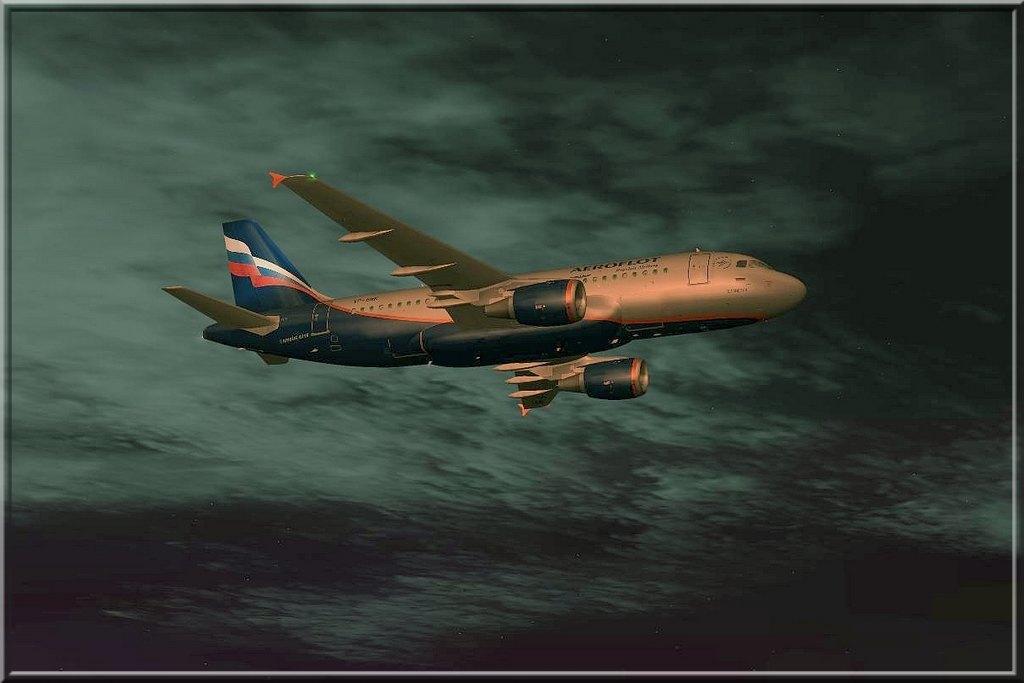 Uma imagem (FS2004) A319Aeroflot04
