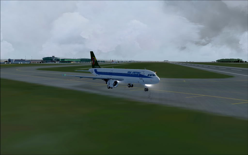 [FS9] A320 da Voo Virtual do Porto LPPR para Madrid LEMD A320_VV04