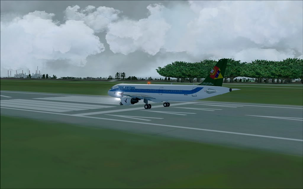 [FS9] A320 da Voo Virtual do Porto LPPR para Madrid LEMD A320_VV05