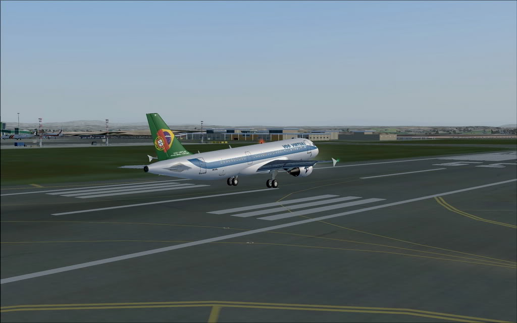 [FS9] A320 da Voo Virtual do Porto LPPR para Madrid LEMD A320_VV06
