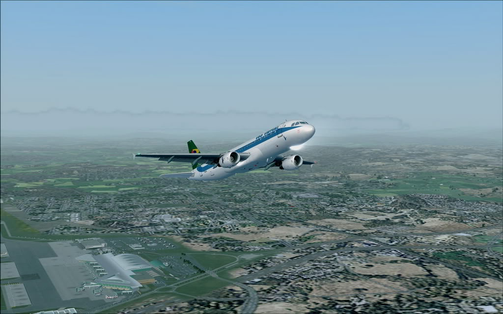 [FS9] A320 da Voo Virtual do Porto LPPR para Madrid LEMD A320_VV07