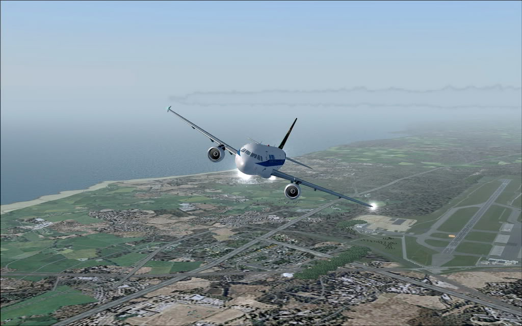 [FS9] A320 da Voo Virtual do Porto LPPR para Madrid LEMD A320_VV08