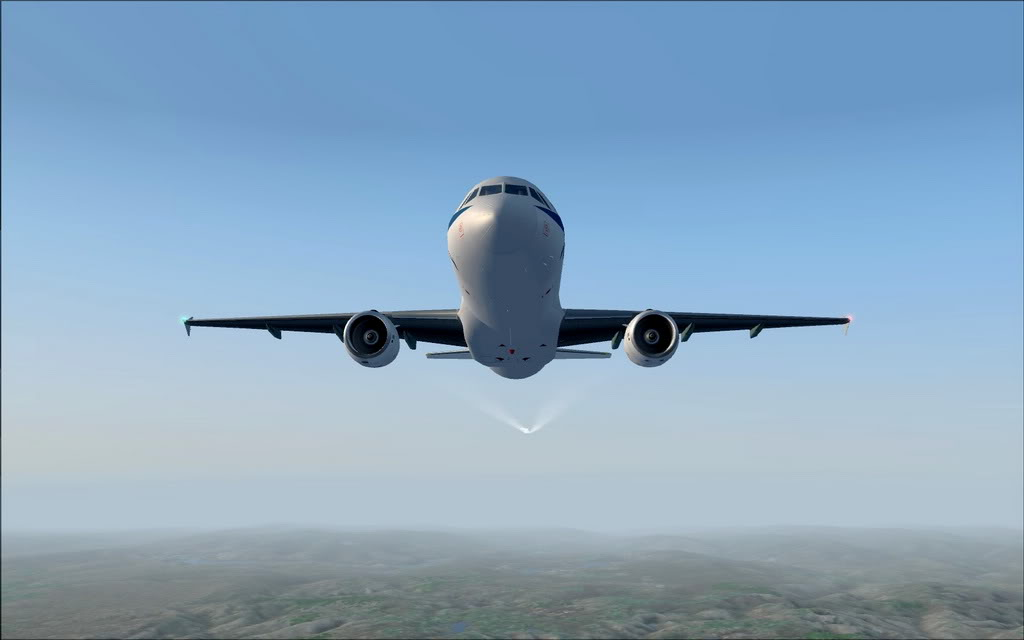 [FS9] A320 da Voo Virtual do Porto LPPR para Madrid LEMD A320_VV12