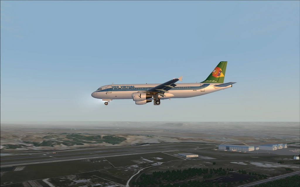 [FS9] A320 da Voo Virtual do Porto LPPR para Madrid LEMD A320_VV14