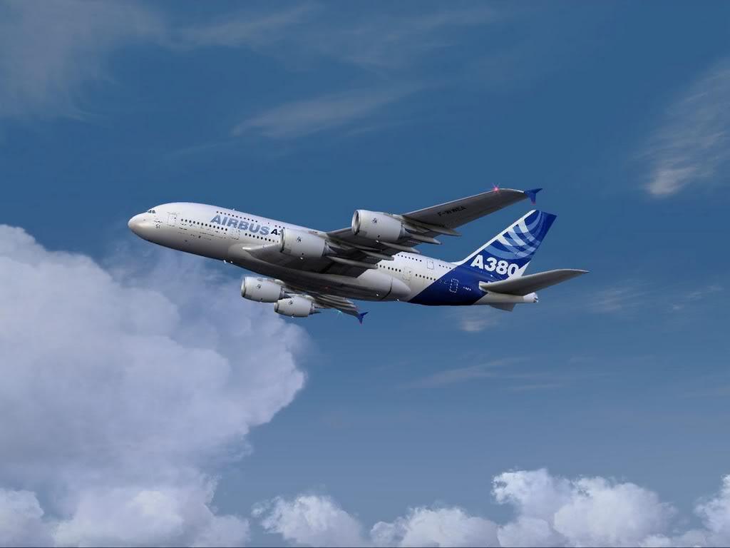 [FS9] - Voo para a Madeira num A380 A38003