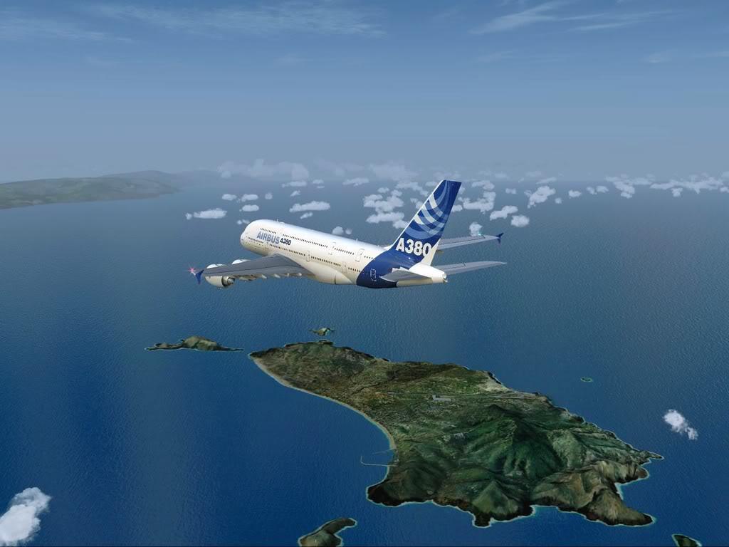 [FS9] - Voo para a Madeira num A380 A38006