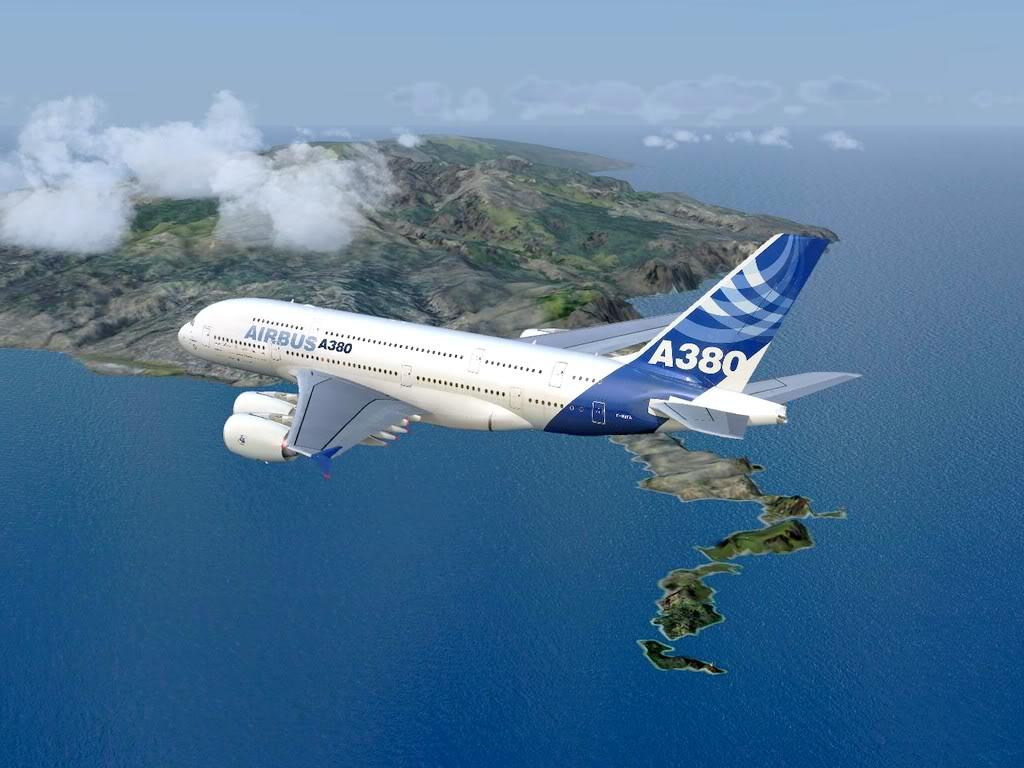 [FS9] - Voo para a Madeira num A380 A38007