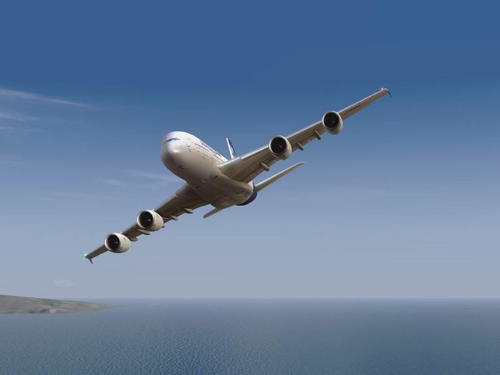 [FS9] - Voo para a Madeira num A380 A38008
