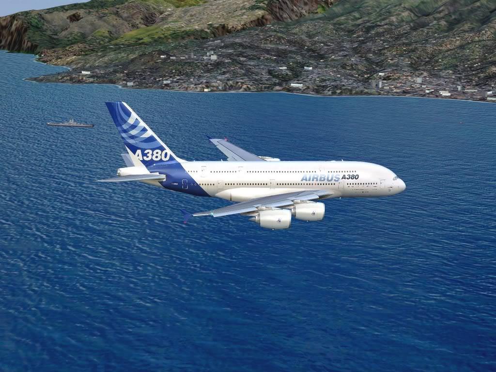 [FS9] - Voo para a Madeira num A380 A38009