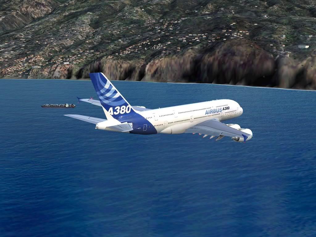 [FS9] - Voo para a Madeira num A380 A38010
