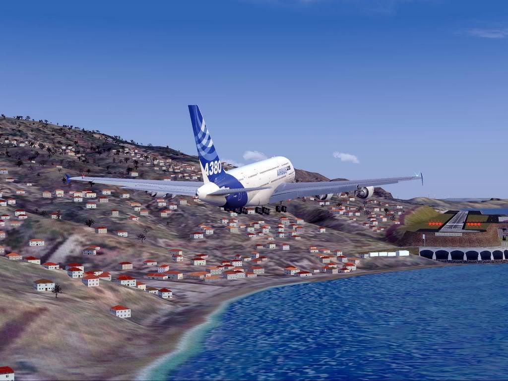 [FS9] - Voo para a Madeira num A380 A38012