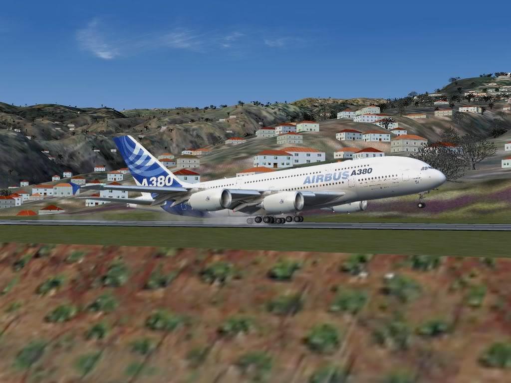 [FS9] - Voo para a Madeira num A380 A38013