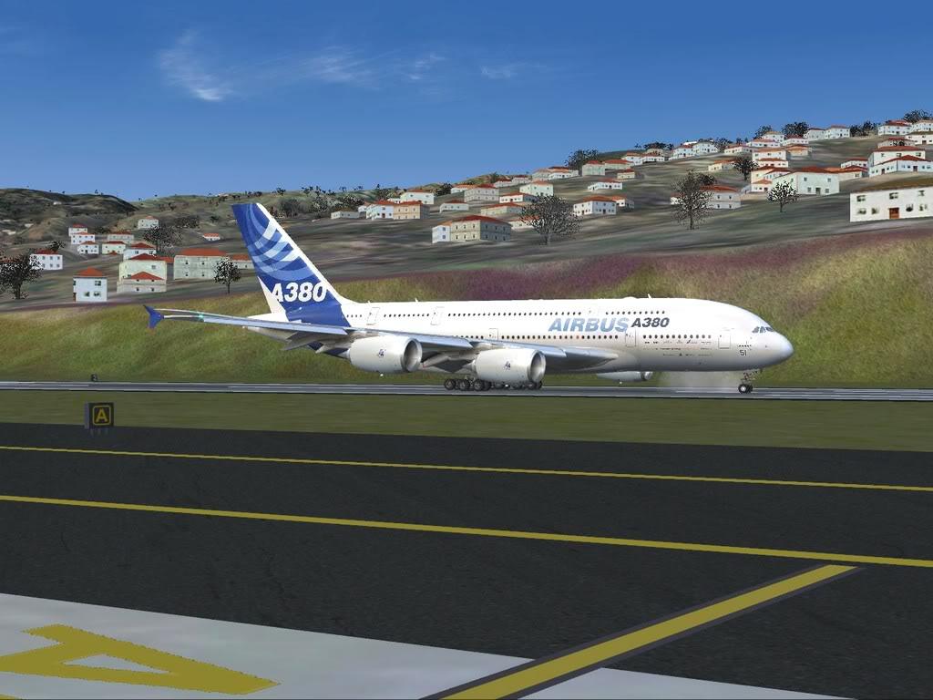 [FS9] - Voo para a Madeira num A380 A38014