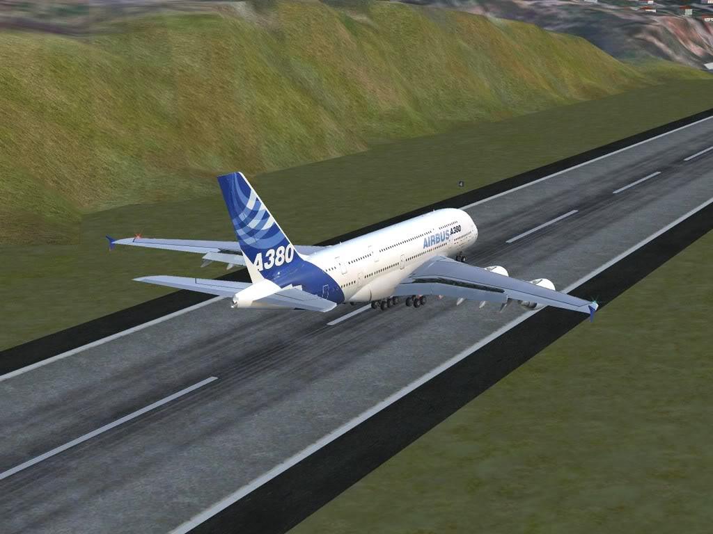 [FS9] - Voo para a Madeira num A380 A38015