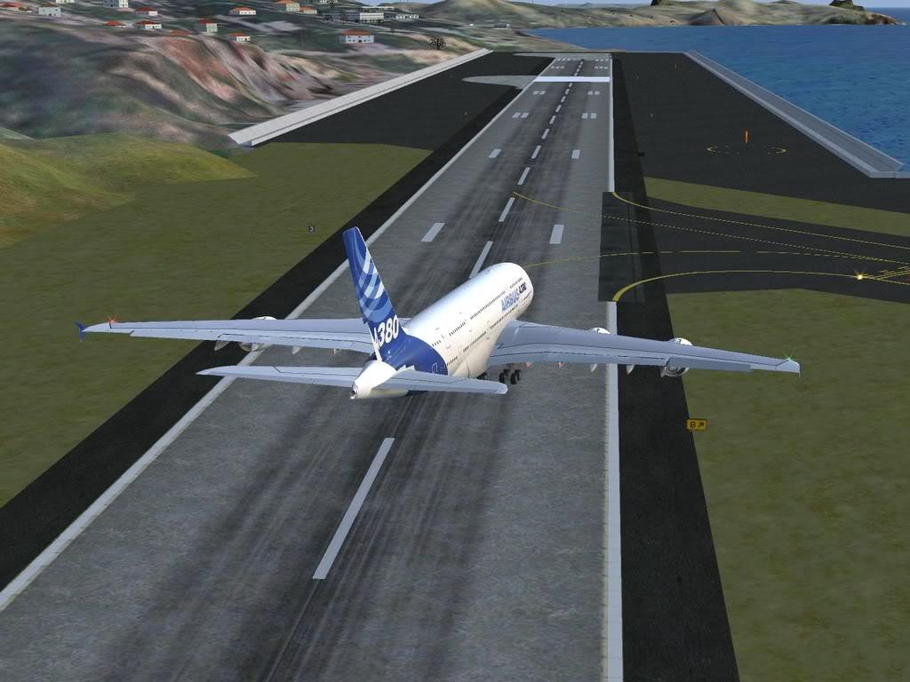 [FS9] - Voo para a Madeira num A380 A38016