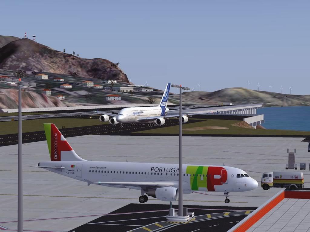 [FS9] - Voo para a Madeira num A380 A38017