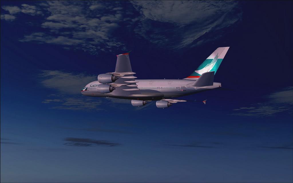 [FS9] - Voo de Adelaide para Melbourne em A380 da Cathay A380_Cathay01
