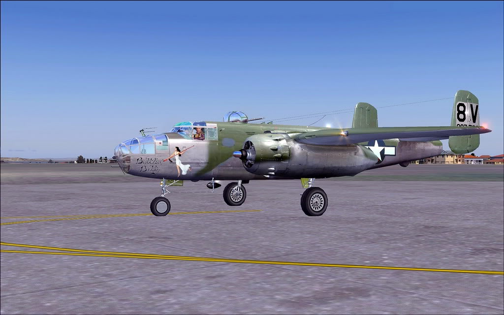 [FS9] Aeronaves de Museu - B-25J Briefing Time B2401