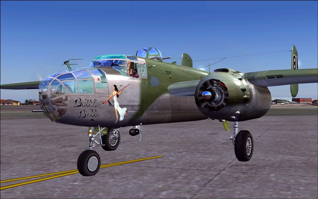 [FS9] Aeronaves de Museu - B-25J Briefing Time B2402