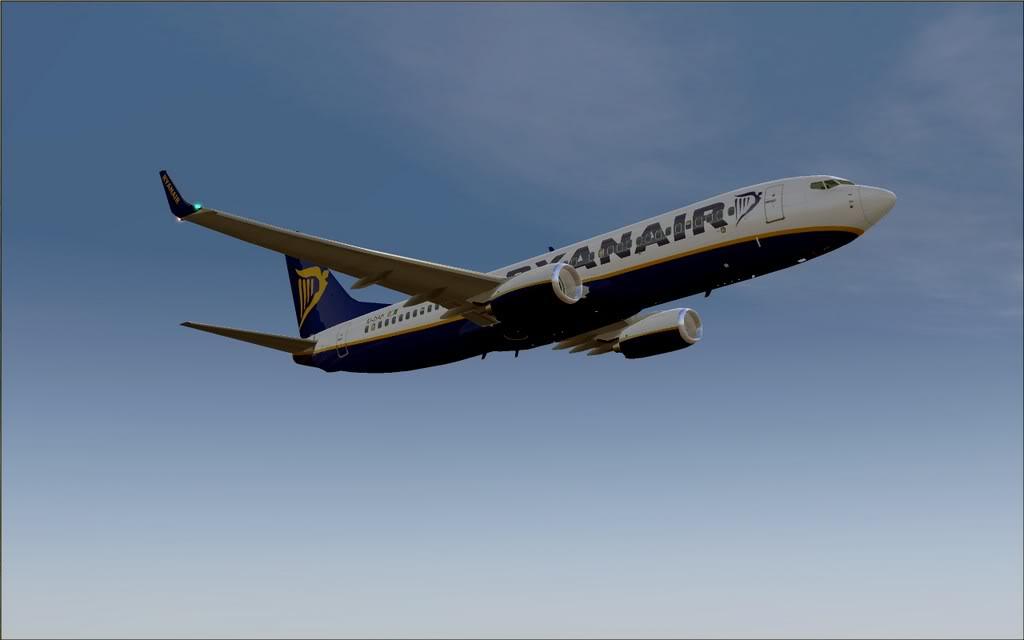 [FS9] - B737-800 Ryanair de Faro para Porto B738_Ryanair12