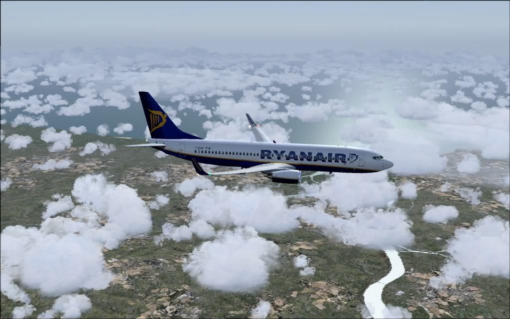 [FS9] - B737-800 Ryanair de Faro para Porto B738_Ryanair15