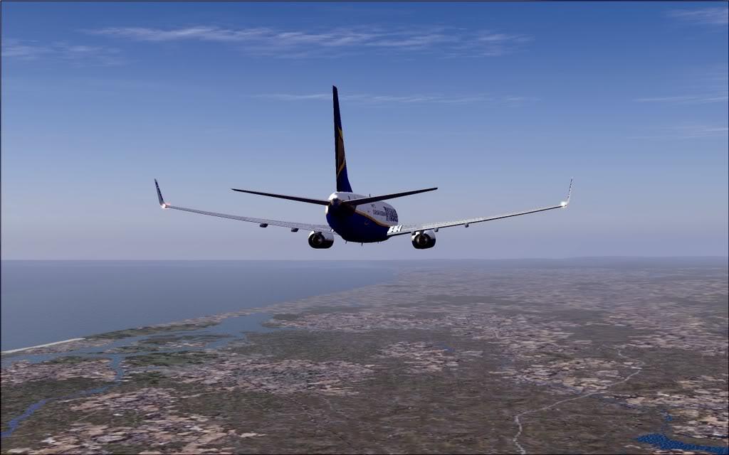 [FS9] - B737-800 Ryanair de Faro para Porto B738_Ryanair17