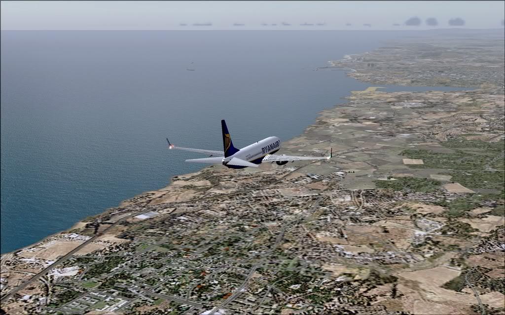 [FS9] - B737-800 Ryanair de Faro para Porto B738_Ryanair18