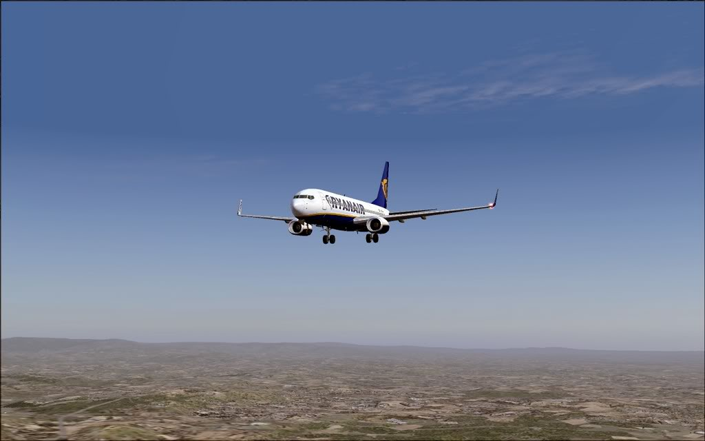 [FS9] - B737-800 Ryanair de Faro para Porto B738_Ryanair19
