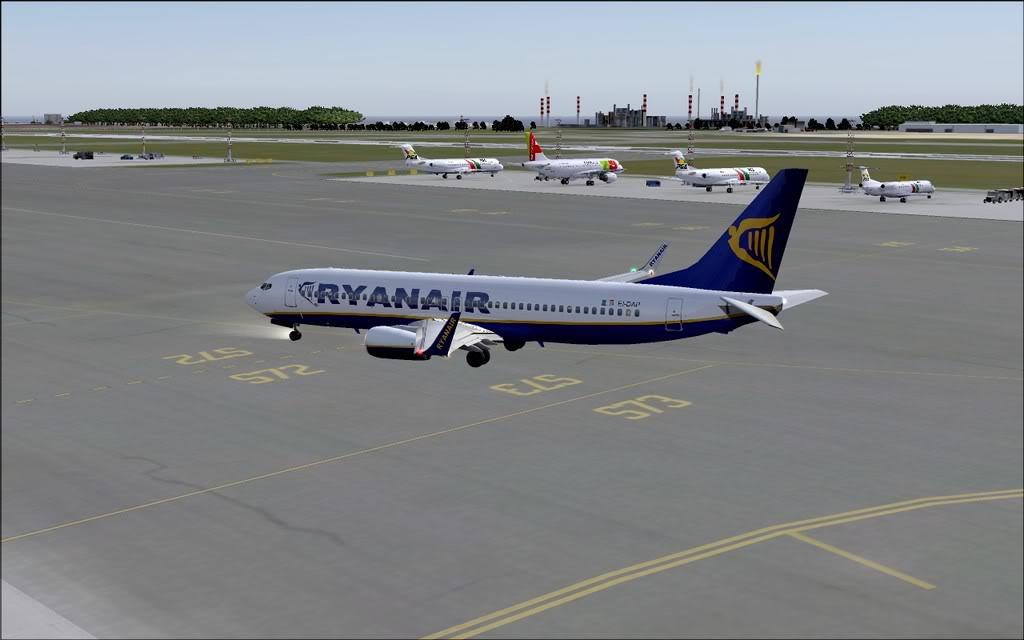 [FS9] - B737-800 Ryanair de Faro para Porto B738_Ryanair26